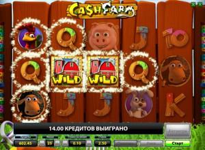 Игровой автомат слот Cash Farm Deluxe - Денежная ферма
