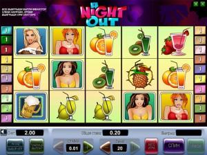 Игровой автомат слот A Night Out