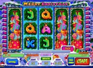 Игровой автомат слот Merry Christmas играть бесплатно