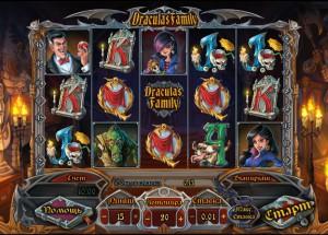 Игровой автомат слот Draculas Family - Семья Дракулы
