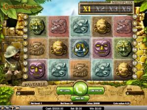 Игровой автомат слот Gonzos Quest - Гонзо квест