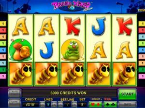 Игровой автомат слот Beetle Mania Deluxe играть бесплатно