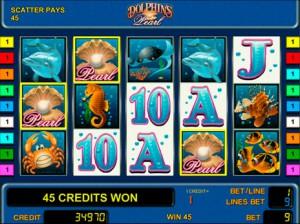 Игровой автомат слот Dolphin's Pearl играть бесплатно