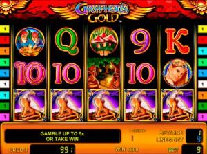 Игровой автомат слот Gryphons Gold - Золото Грифона