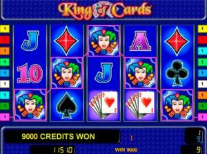 Игровой автомат слот King of Cards - Король Карт