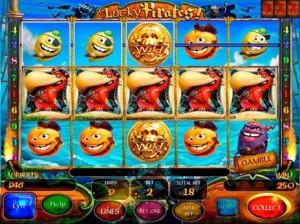 Игровой автомат слот Lucky Pirates - счастливые пираты