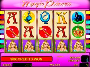 Игровой автомат слот Magic Princess - Волшебная Принцесса