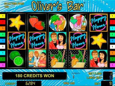 Игровой автомат слот Olivers Bar - Оливер бар