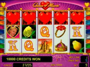 Игровой автомат слот Queen of Hearts - Королева сердец
