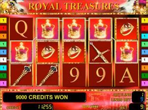 Игровой автомат слот Royal Treasures - Королевские сокровища