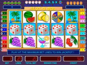 Игровой автомат слот Slot-o-pol Deluxe - Слотопол делюкс