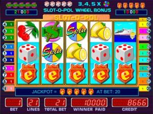 Игровой автомат слот Slot o pol - Слот о пол