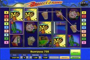 Игровой автомат слот Roller Coaster - Карусель