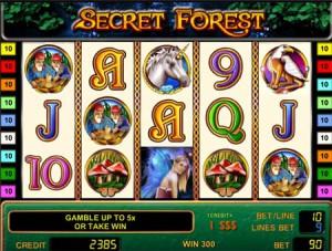 Игровой автомат слот Secret Forest - Секретный лес