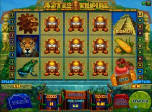 Игровой автомат слот Aztec Empire - Империя Ацтеков