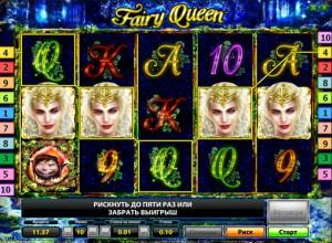 Игровой автомат слот Fairy Queen Deluxe - Королева Фей