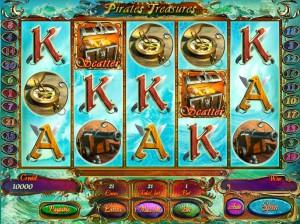 Игровой автомат слот Pirates Treasures - Сокровища пиратов