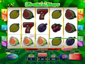 Игровой автомат слот Fruits N Stars - Фрукты и звезды