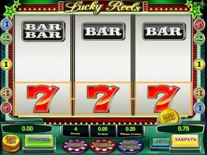 Игровой автомат слот Lucky Reels - Счастливые барабаны