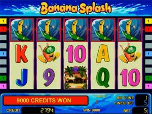 Игровой автомат слот Banana Splash - Банановый всплеск