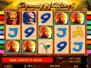 Игровой автомат слот Dynasty of Ming - Династия Мин