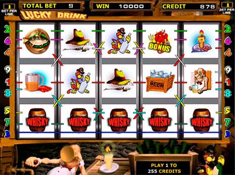 Игровой автомат слот Lucky Drink - Черти