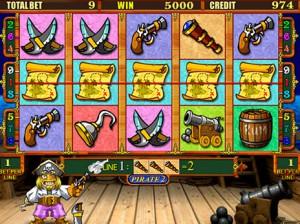 Игровой автомат слот Pirate - Пират