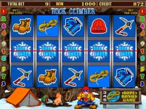 Игровой автомат слот Rock Climber - Веревки Скалолаз