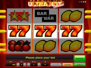Игровой автомат слот Ultra Hot Deluxe - Ультра Хот Делюкс