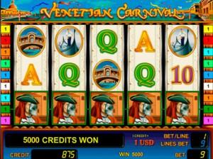 Игровой автомат слот Venetian Carnival - Венецианский карнавал