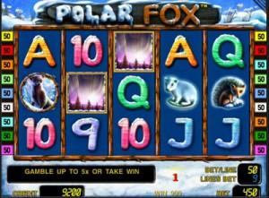 Игровой автомат слот Polar Fox - Полярная лиса