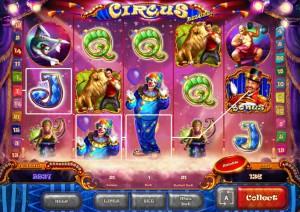 Игровой автомат слот Circus HD - Цирк