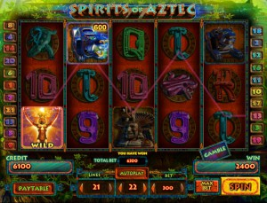 Игровой автомат слот Spirit Of Aztec - Духи Ацтеков