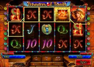 Игровой автомат слот Treasures Of Tombs - Сокровища гробницы
