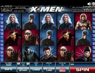 Игровой автомат слот X-Men - Х-мен онлайн