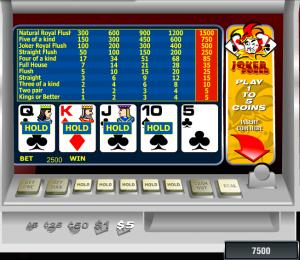 Видеопокер Joker Poker