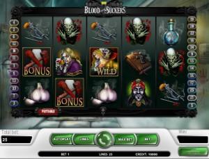 Игровой автомат слот Blood Suckers - Вампиры