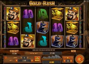 Игровой автомат слот Gold Rush - Золотая лихорадка
