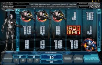 Игровой автомат слот Iron Man 3 - Железный человек 3