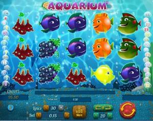 Игровой автомат слот Aquarium - Аквариум