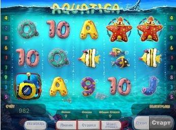 Игровой автомат слот Aquatica - Акватика