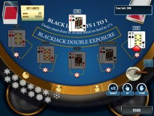 Blackjack Exposure - блэкджек в открытую онлайн