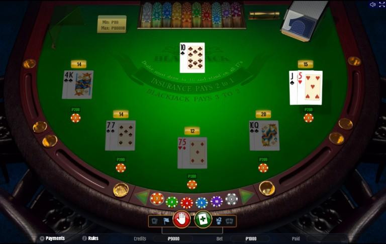 Blackjack Classic - Блэкджек классический онлайн