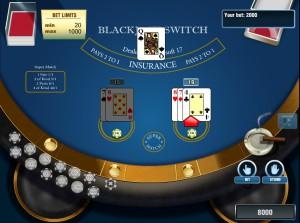 Black Jack Switch - Блэкджек Свитч онлайн