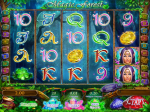 Игровой автомат слот Magic Forest HD - Сказочный лес