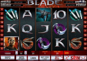 Игровой автомат слот Blade - Блейд