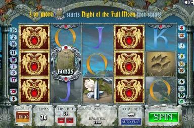 Игровой автомат слот Full Moon Fortunes
