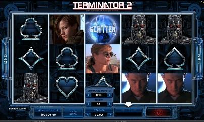 Игровой автомат слот Terminator 2 - Терминатор 2