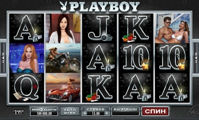 Игровой автомат слот Playboy играть бесплатно