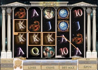Игровой автомат слот Orion играть онлайн